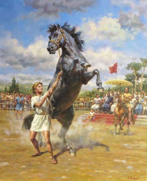 Alessandro Magno e Bucefalo