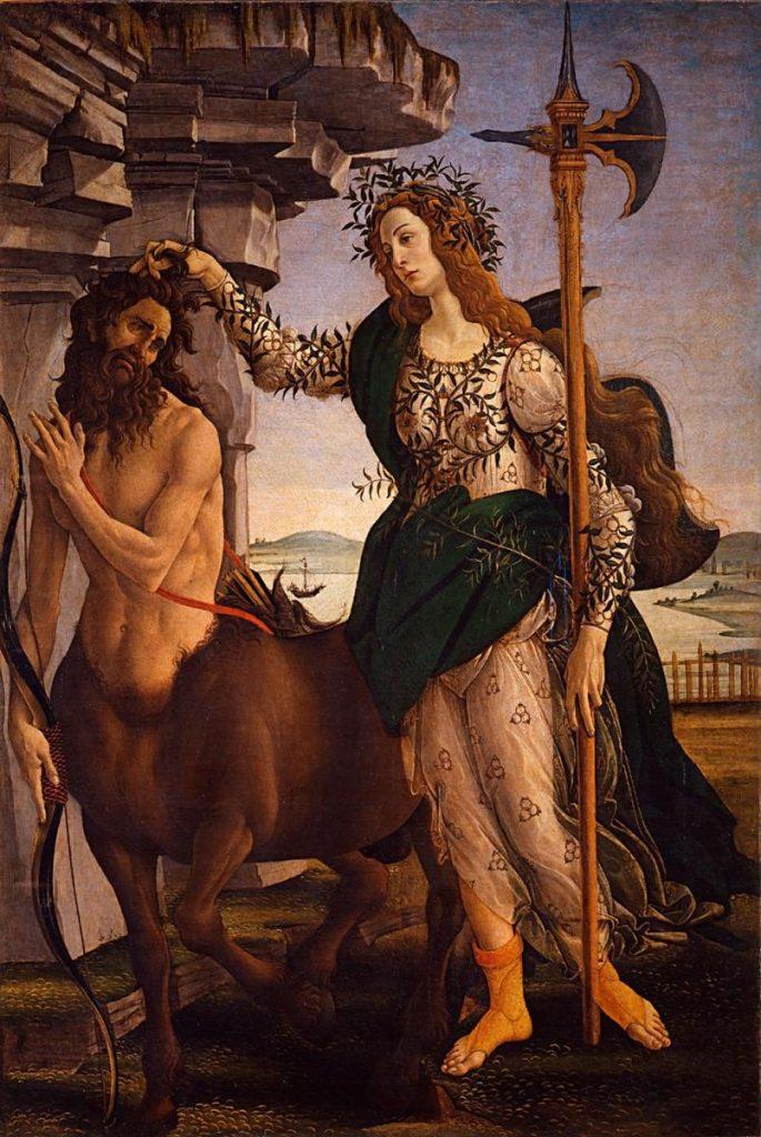 Pallade-centauro-Sandro-Botticelli