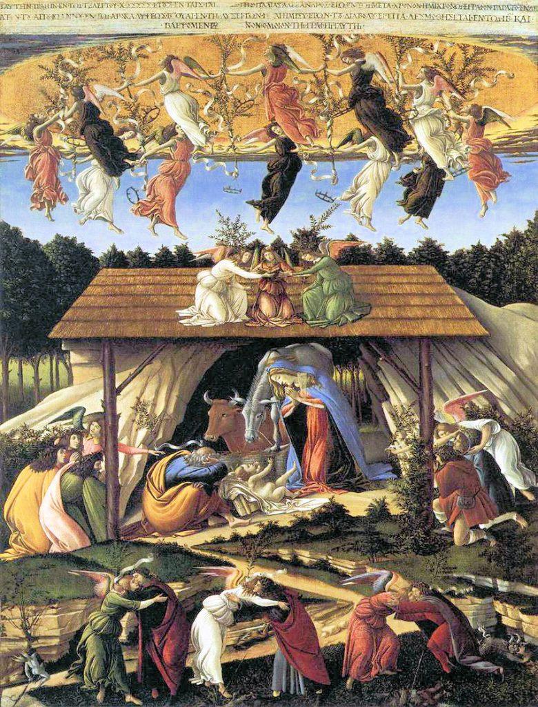 Natività-mistica-Sandro Botticelli