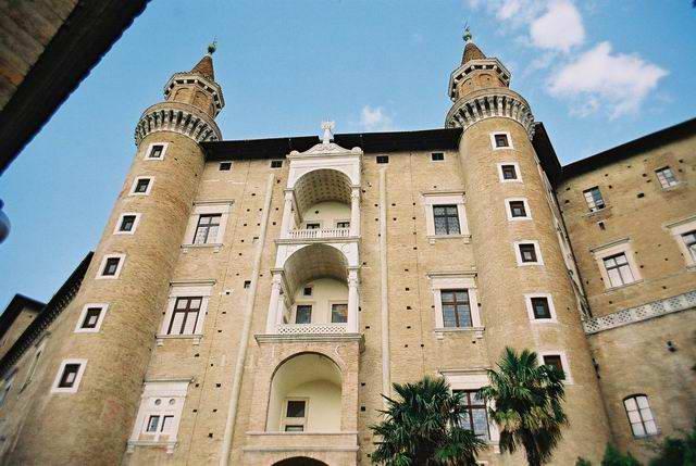 Facciata-Torricini-Palazzo-Ducale-Urbino