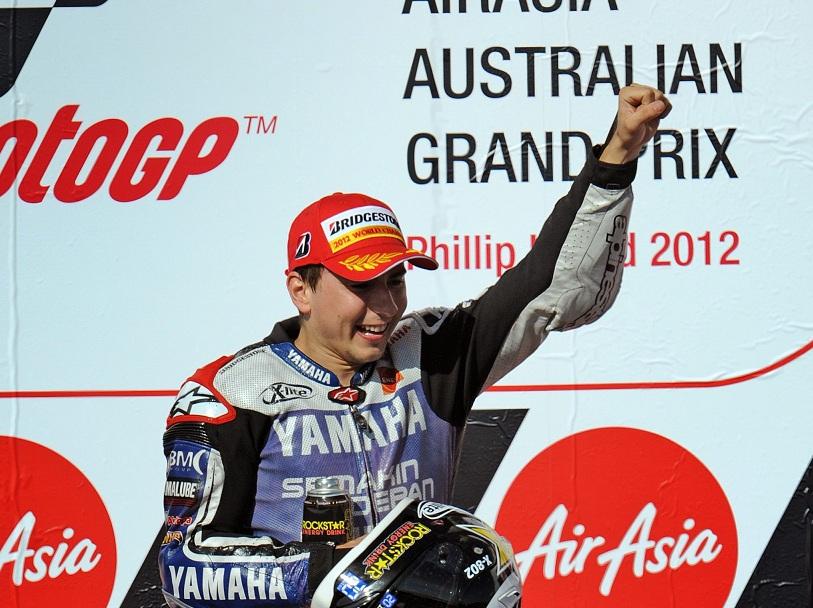 Jorge Lorenzo Campione MotoGP