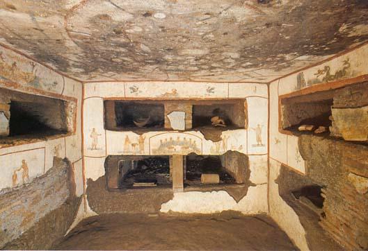 Le pitture delle Catacombe di Callisto