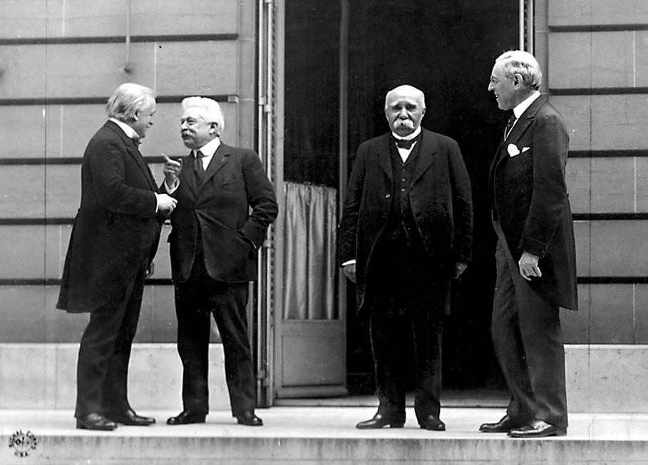 OGGI INIZIO' LA CONFERENZA DI PACE DI PARIGI DEL 1919