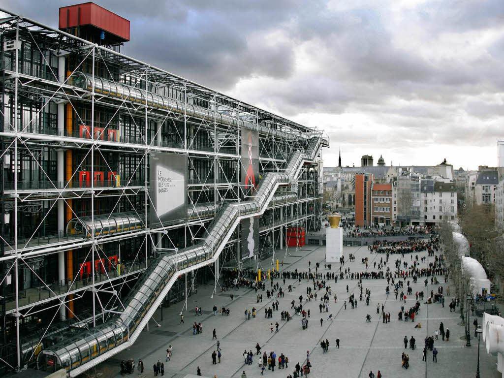 Il Centro Georges Pompidou di Parigi