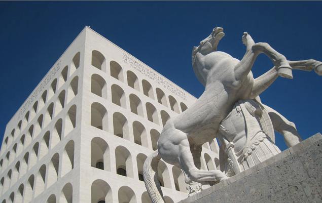 L'EUR, LA ROMA DEL FASCISMO