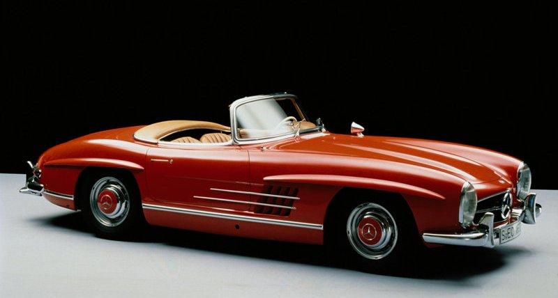 Mercedes SL 300 1954