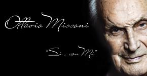 """Ottavio Missoni  """"Sì, Son Mi"""""""