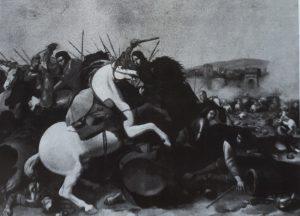 Aniello Falcone Scontro tra cavalieri - Museo di Monaco di Baviera