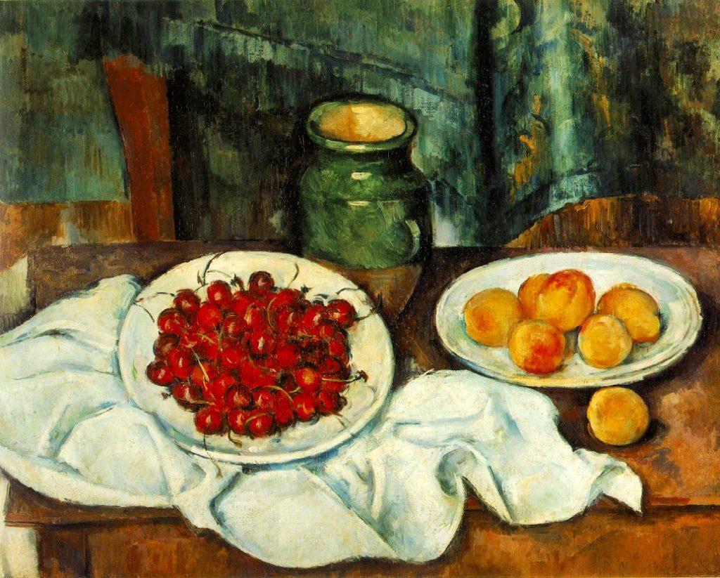 IMPRESSIONISMO-cezanne-cherries-Ciliegi