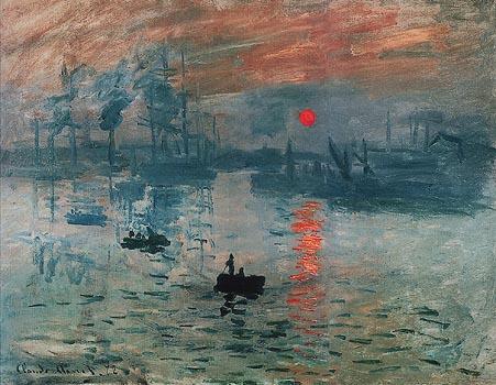 Soleil levantdi Claude Monet