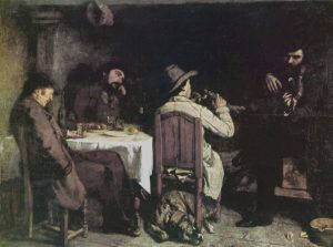 Gustave-Courbet-Dopocena-Ornans-After-Dinner-Ornans