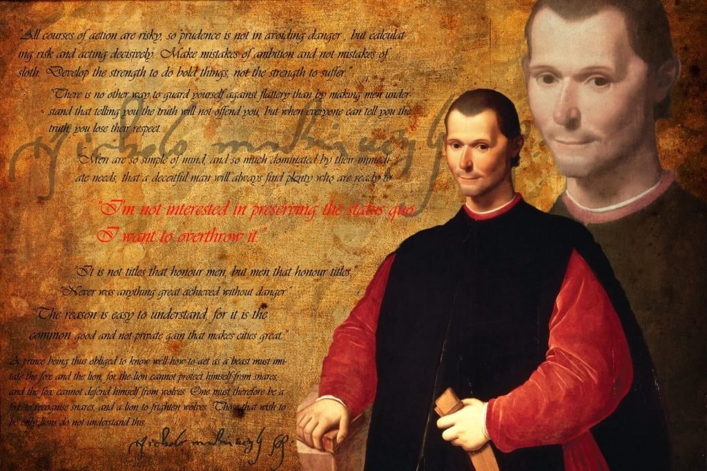 Gli aforismi di Niccolò Machiavelli - VeniVidiVici
