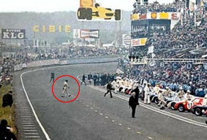 La partenza di Le Mans di Jacky Ickx - 1969