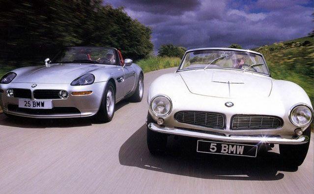 BMW Z8 e BMW 507