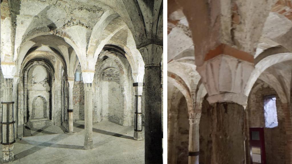 Chiesa di Sant'Eusebio, cripta