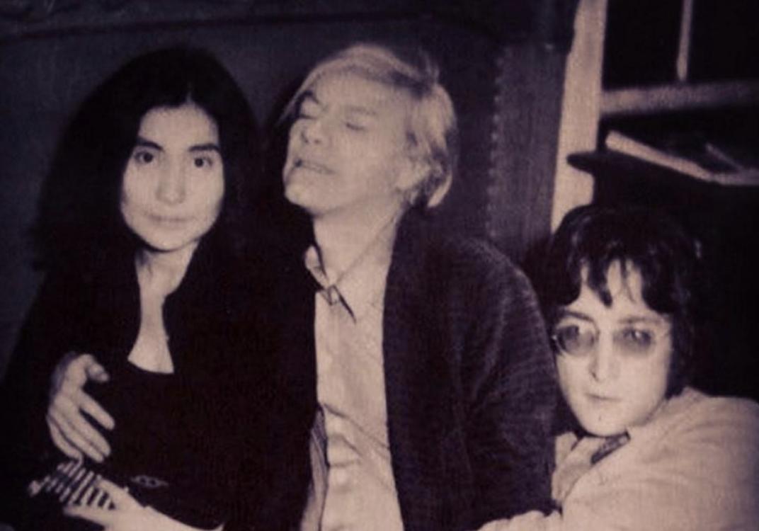 Yoko Ono, Andy Warhol e John Lennon