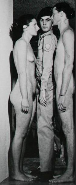 Marina Abramović e Frank Uwe Laysiepen