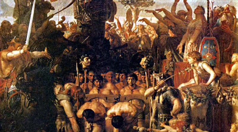 Sodomizzazione dei Romani durante le Forche Caudine